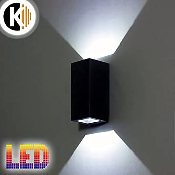 Led Lampe Sophia 1 6w 600lm Kaltweiss Aluminium Graphit Ip54