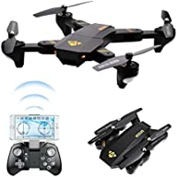 BDKJ Wifi FPV portable RC Drone XS809W 2.4G 4CH one key return Folded Rea ltime Transmission RC Quadcopter Kit with 720P hd Camera