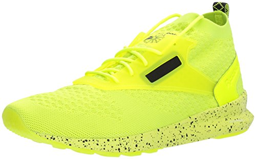 Reebok Men's Zoku Runner M Sneaker, Solar Yellow/Black/White, 10 M - Sneakers Bright