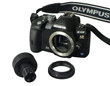 OMAX Microscope Adapter for Nikon Olympus D-SLR with 2X Lens