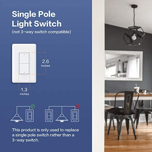 Aqara Smart Wall Switch (with Neutral, Double Rocker), Requires AQARA HUB, Zigbee Switch, Remote Control and Set Timer for Home Automation, Compatible with Alexa, Apple HomeKit, Google Assistant 41UDUlUWxzL
