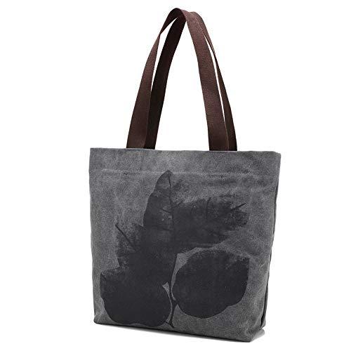 Gray en Sac Mode Simple À Femme Bandoulière Nouveau Bleu À GWQGZ Shopping La Sac Sac Toile pour TwEaF5q