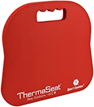 Therm-A-SEAT Sport Cushion Stadium Seat Pad, Red
