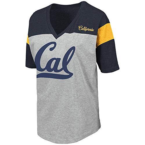 Womens Cal Berkeley Golden Bears Genoa Short Sleeve Tee Shirt - L