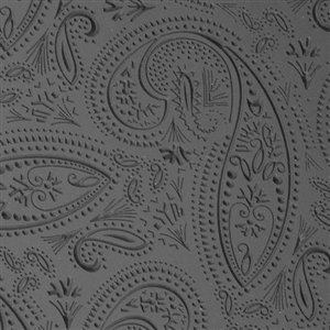 Cool Tools - Flexible Texture Tile - Mehndi Paisley Embossed - 4 X 2 TTL-804