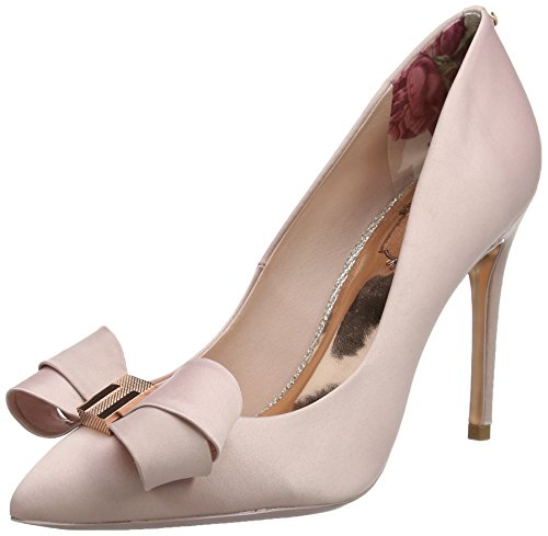 con para Ffc0cb Pink Bailarinas Baker Punta Skalett Light Rosa Mujer Ted Cerrada PUtYRqWw
