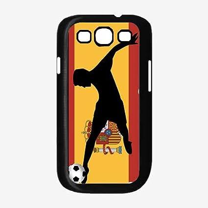 Amazon.com: Copa del Mundo España fútbol TPU hule Silicona ...