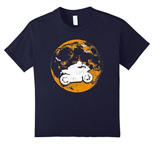 Motor Racing Costume For Kids (Kids Motor Racing Halloween T-Shirt 10 Navy)