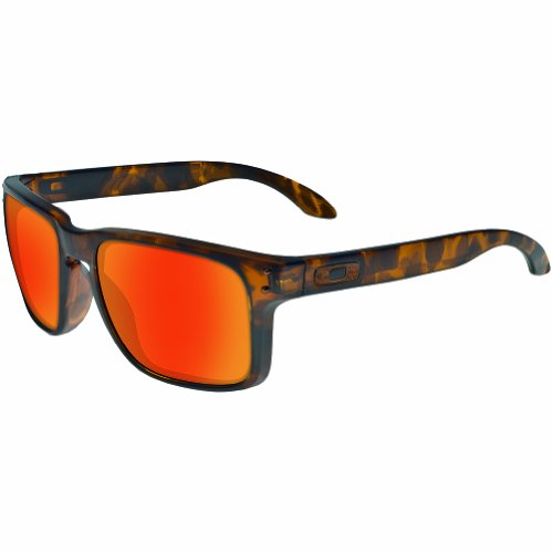 Oakley Men's OO9102 Holbrook Square Sunglasses, Brown