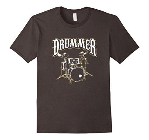 Mens Drum Set Drummer Design Musician Gift T-Shirt 3XL (Drum Set Mens T-shirt)