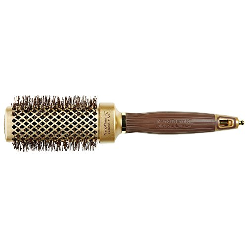 Price comparison product image Olivia Garden NanoThermic Ceramic + Ion Shaper Square Hair Brush (NTS-40)