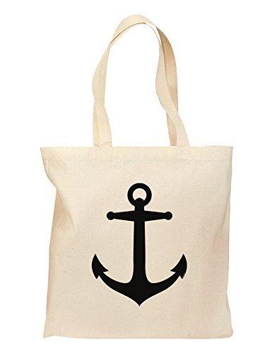 Nautical Sailor ANCHOR Lebensmittels Tasche–Natural by tooloud