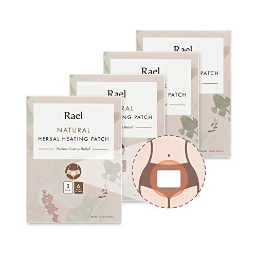 (Rael Natural Herbal Heating Patch - PMS Relief Natural Heating Herb Therapy Patches (4Pack/ 12 Count))