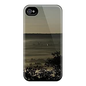 Quality ConnieJCole Case Cover With Foggy Valley Nice Appearance Compatible With Iphone 4/4s