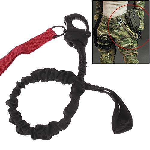DAYIYANG Breakaway Safety Lanyard Strap Rope/Immediate Release Buckle Safety Rope/Helicopter Insurance Rope (Color : Red)
