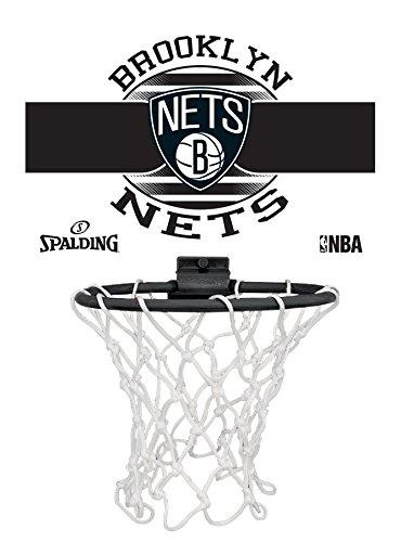 Spalding NBA Miniboard Brooklyn Nets 77-662Z Minicanasta, Unisex ...