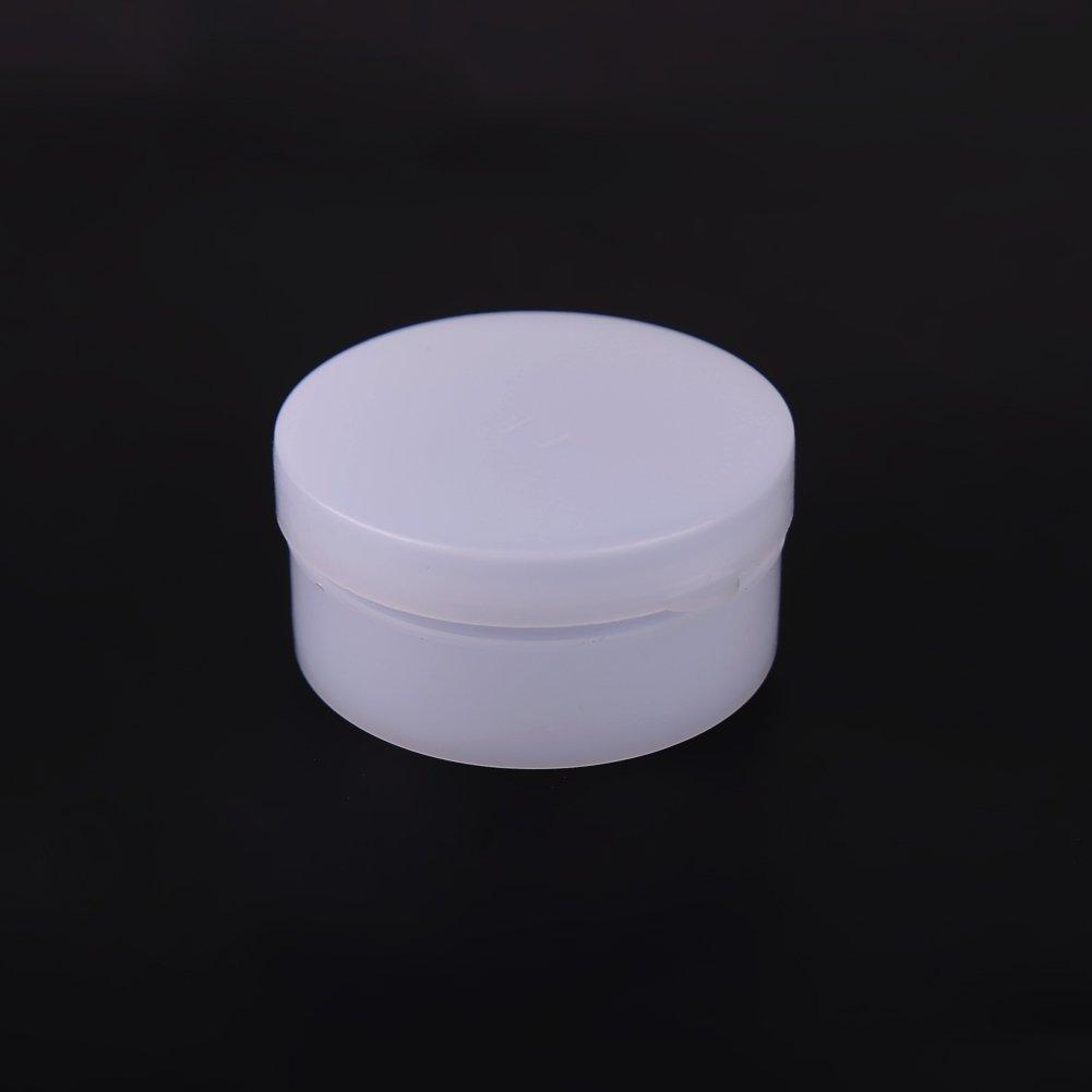 everpert 50pcs 20G vacío tarro, bote de cosméticos sombra de ojos Crema Facial Recipiente Caja (color blanco)