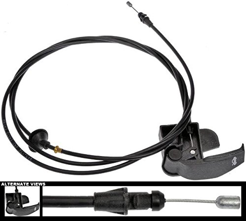 APDTY 119233 Hood Release Cable Fits Select 2007-2014 Cadillac Escalade/Chevrolet Avalanche, Silverado, Tahoe/GMC Sierra, Yukon (Replaces 20968782) ()