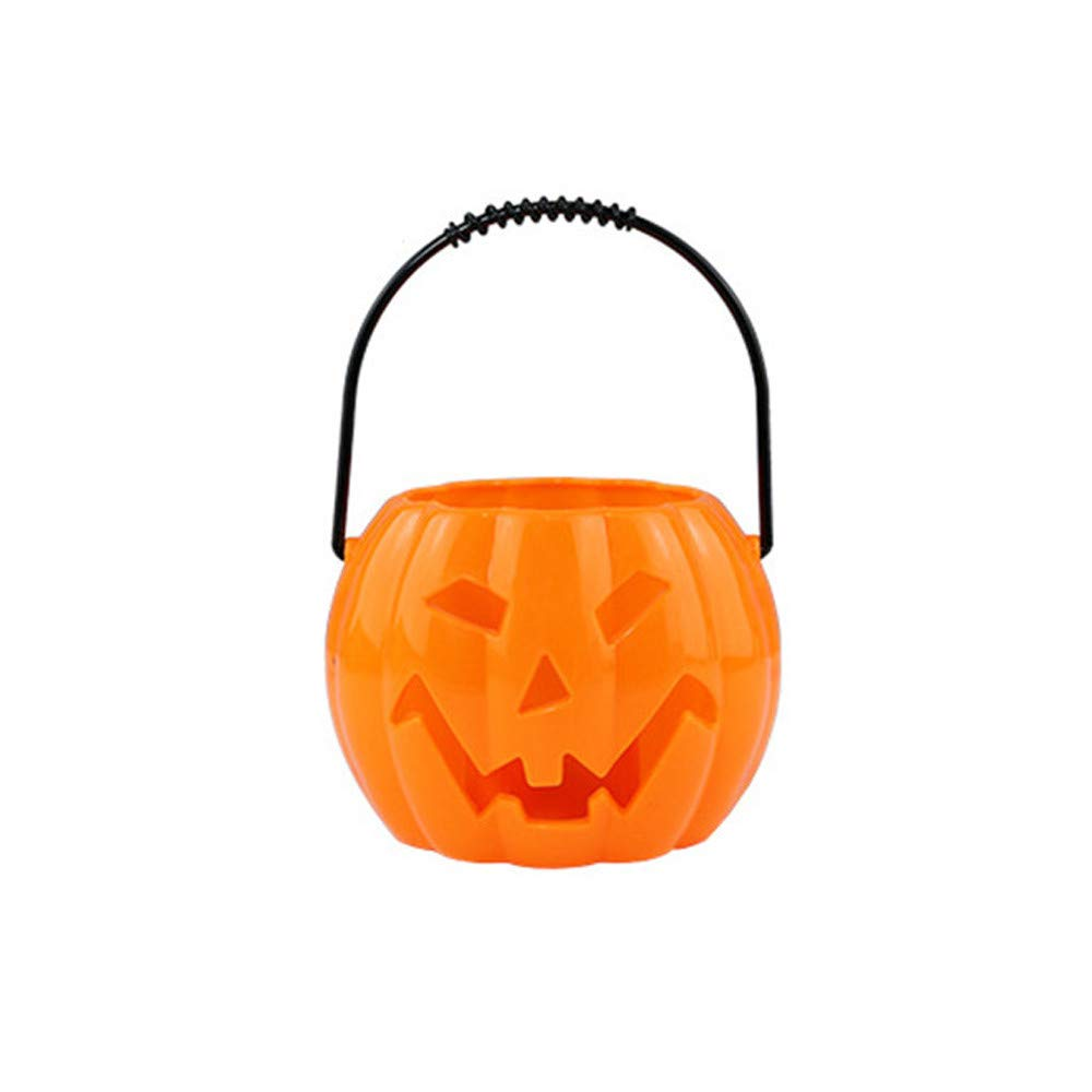 DBHAWK Halloween Pumpkin Light Decor Glowing Ghost Called/Voice-Activated Flashing/Lantern Hanging LED Lamp Indoor/Outdoor Props Party Decor Props