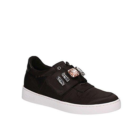 Guess FLFLO1-SAT12 Sneakers Femme Fibres Textiles Noir 40 XuWbDr9mSH