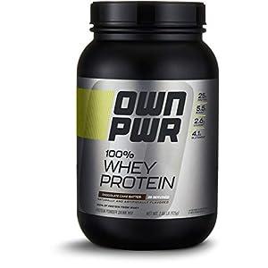Amazon Brand OWN PWR 100% Whey Protein Powder