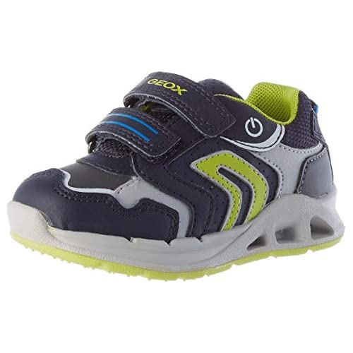 chollos oferta descuentos barato GEOX B DAKIN BOY A NAVY LIME Baby Boys Trainers Low Top Trainers size 20 EU