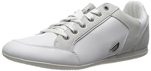 Diesel Mens Prigione Voleva Moda Sneaker Bianco