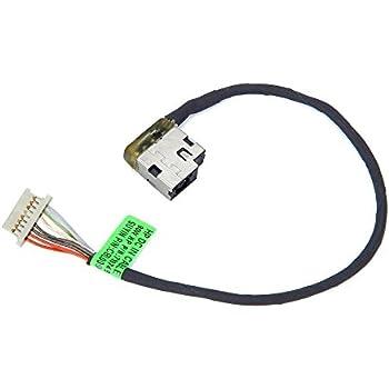 DC POWER JACK w// CABLE HP 15-AY018ca 15-AY018cy 15-AY018ds 15-AY018nr 15-AY012ds