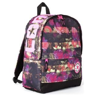 f59f2083efc Converse Floral Print Backpack - Multicoloured. Size H45, W30, D12cm:  Amazon.co.uk: Sports & Outdoors