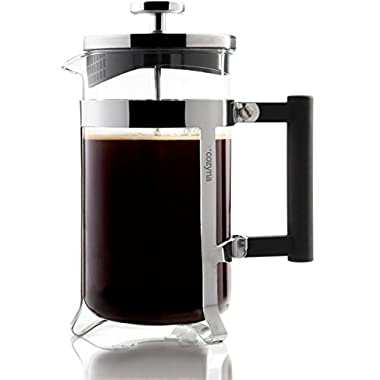 Cozyna French Press Coffee Maker, 34 oz, 8 Cup, 1 L, Eden