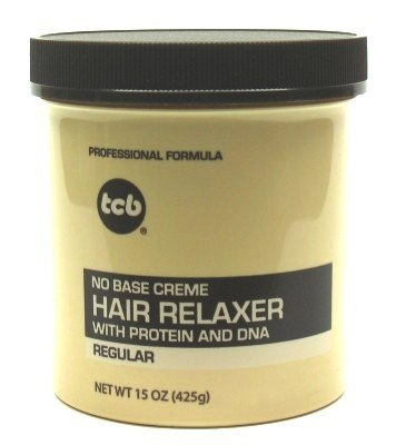 TCB Hair Relaxer 15 oz. Regular Jar (Pack of 8)