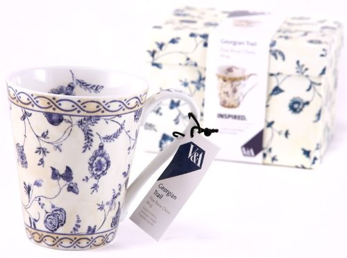 ('Georgian Trail' Fine Bone China Mug in Gift Box)