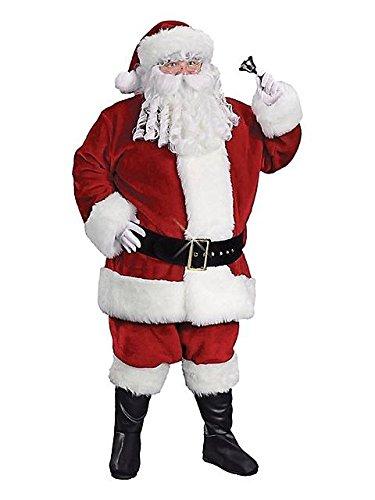 Extra Large Santa Boot Top (Santa Suit Prem Plush Xlg Christmas Costume Item - Funworld)