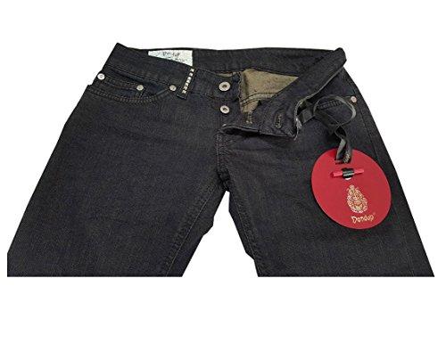 Noah Cotone 2 Borchie Jeans P147 98 Con Elastan Donna Nero Mod Dondup twgafq
