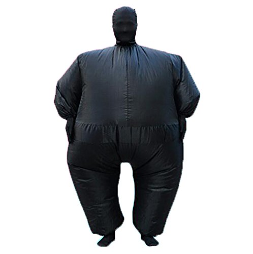 (YUJUAN Inflatable Full Body Costumes Suit Blow up Party Cosplay Coregonus Fat Skin Jumpsuit)