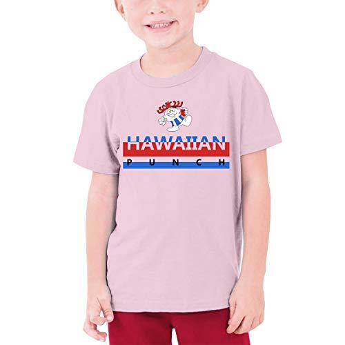 MiiyarHome Teenage T-Shirt Sheebet Punch Recipe, Kids Teen Short Causal Sleeves Tee Children Pink S -