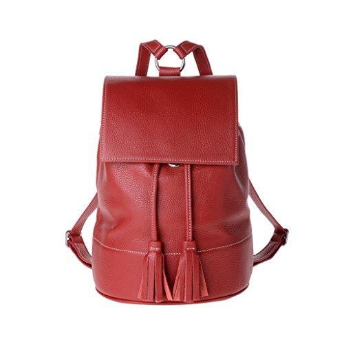 Dudu - Sac porté épaule - Dollaro - Rania - Rouge - Femme