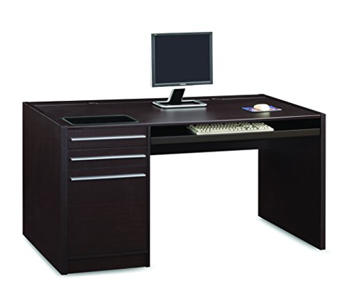 Coaster Home Furnishings Ontario Connect-It Computer Desk Cappuccino (Computer Desk Stores)