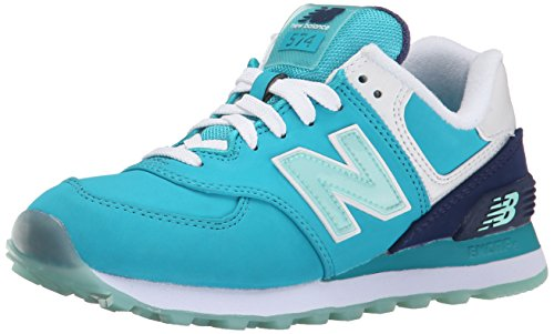 BalanceWL574 Nubuck B Mujer Deportivas New Para Teal Zapatillas Blue 1Hwcqx