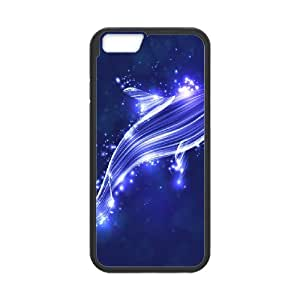 Iphone 6 The dolphins Phone Back Case Customized Art Print Design Hard Shell Protection LK057516