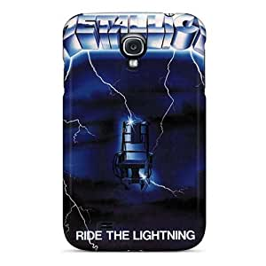 CristinaKlengenberg Samsung Galaxy S4 Protective Cell-phone Hard Covers Provide Private Custom Stylish Metallica Series [vnL19874NDWy]