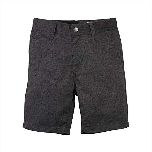 Volcom Little Boys Frickin Chino Short, Charcoal Heather, 5