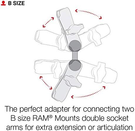 Ram Mount Double 1 Ball Adapter Elektronik