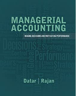 Managerial accounting decision making and motivating performance managerial accounting decision making and motivating performance plus new myaccountinglab with pearson etext fandeluxe Image collections