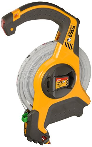 Fisco Tools SWE300E Engineer-Feets Steel Long Tape, 1/2-Inch by 300-Feet by Fisco