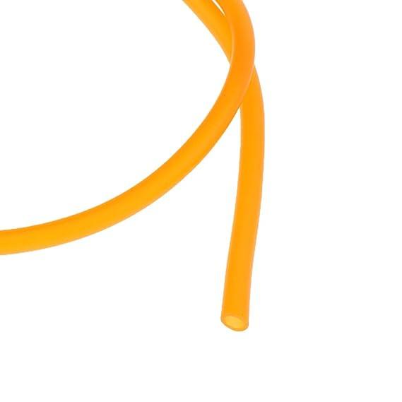 Sharplace Tubo de Gasolina Línea Manguera Tubo Entrega Aceite Combustible Motocicleta 1M - naranja: Amazon.es: Coche y moto