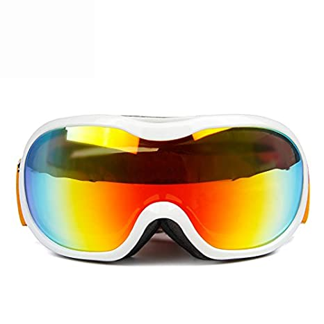 d46b9b73f08e Image Unavailable. Image not available for. Color  Neaer Ski Goggles Double  Anti-Fog Big Ski Mask Glasses Skiing Men Women Snow Snowboard