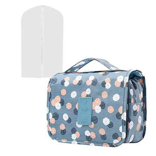 LiboboHanging Bag Organizer Bag with Hook and Handle Waterproof Cosmetic Bag Wine