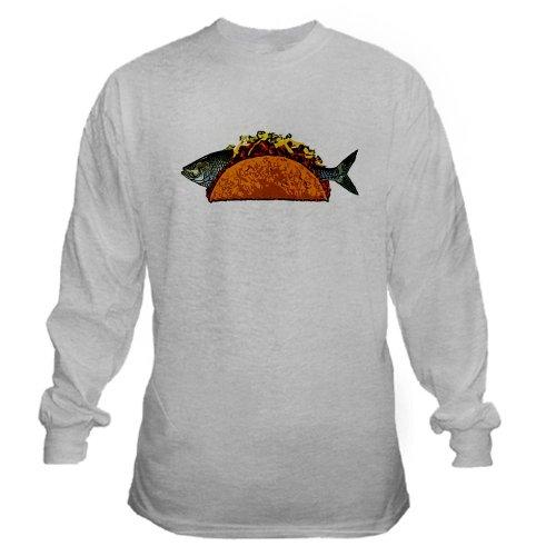 Fish Tacos (CafePress - The Fish Taco Long Sleeve T-Shirt - Unisex Cotton Long Sleeve)