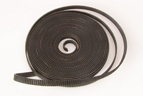 E-accexpert 5m 2GT-6mm Rubber Opening Timing GT2 Belt for 3d Printer